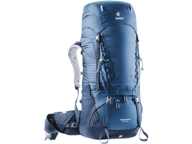 Deuter Aircontact 55 + 10 Backpack midnight-navy